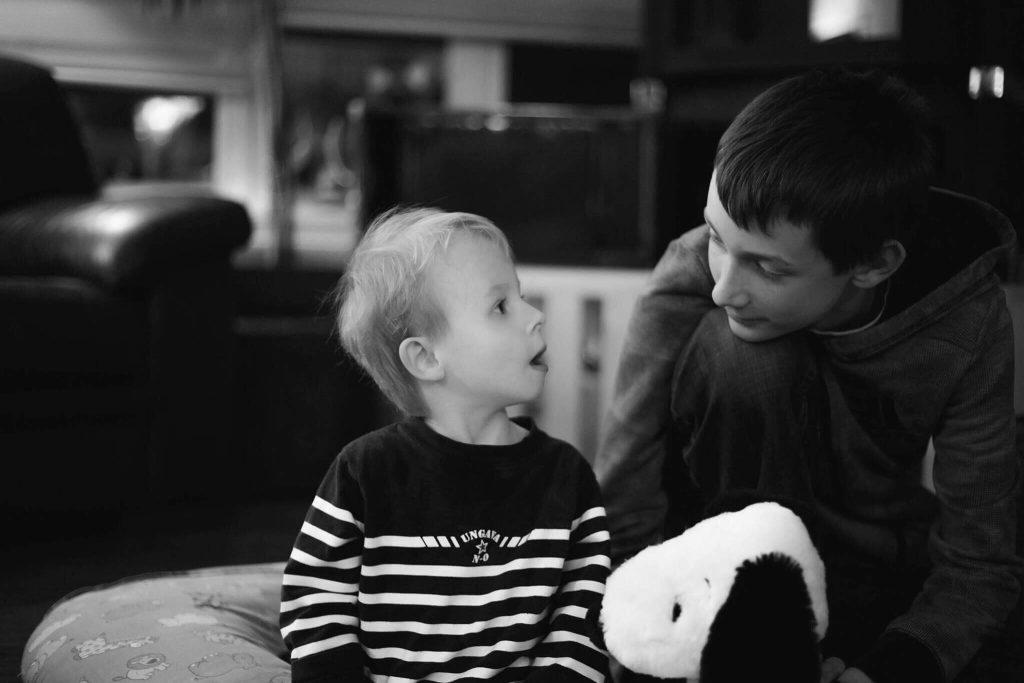 Emrick et son grand frère
